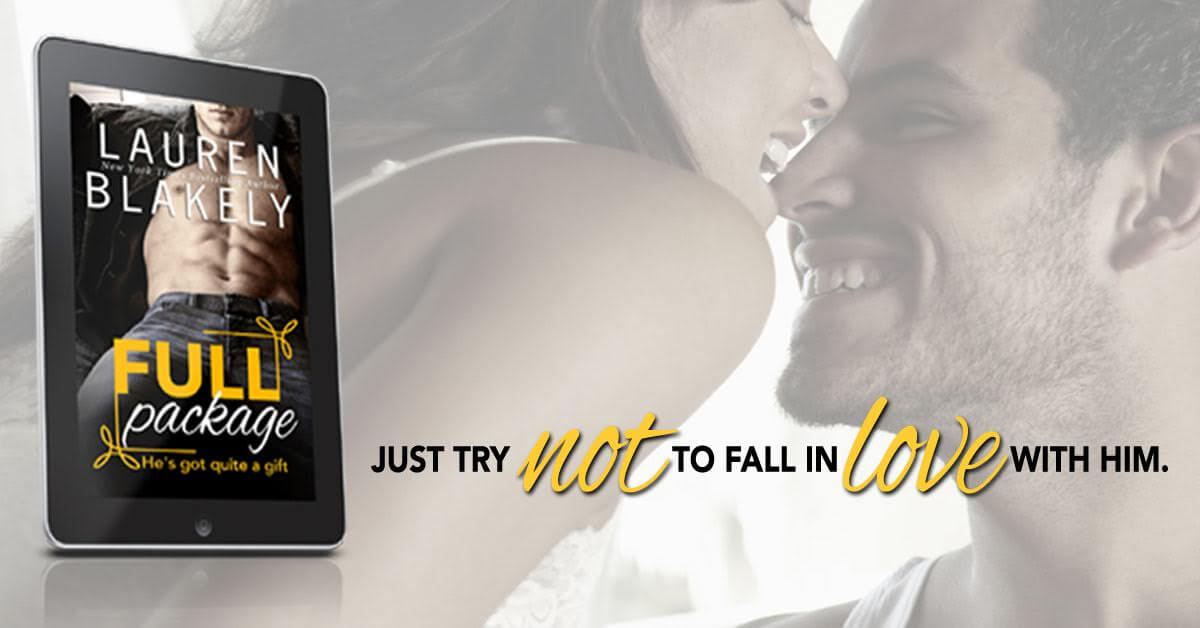 Release Day Blitz, Excerpt, Review & Giveaway: Full Package by Lauren Blakely