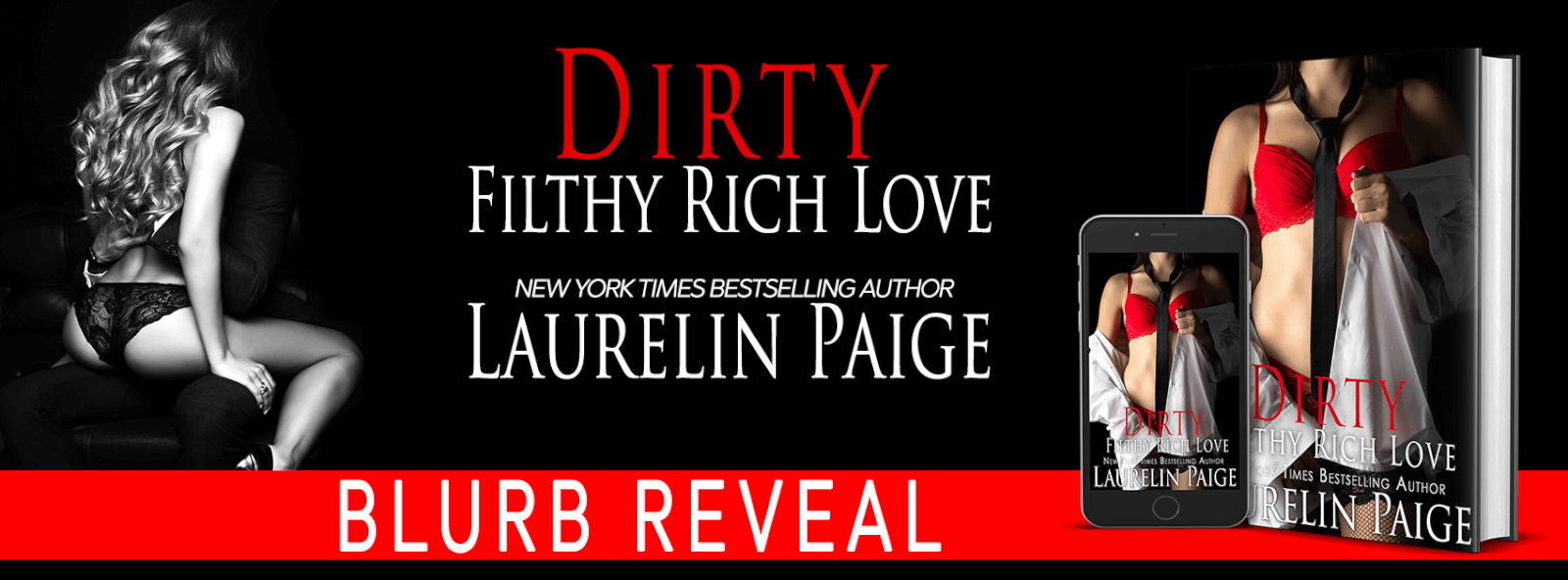 Blurb Reveal: Dirty Filthy Rich Love by Laurelin Paige